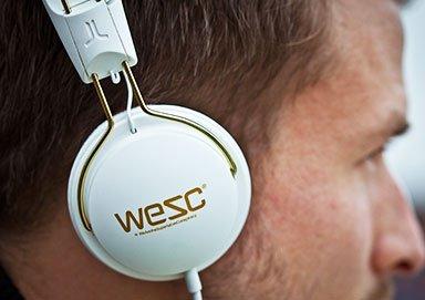 Shop WeSC Headphones Starting at $13.99