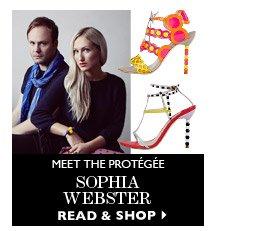 Meet the protégée Sophia Webster READ & SHOP