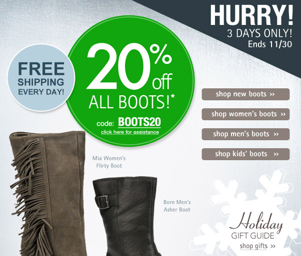 20% Off Our Best Boots - Shop Now!