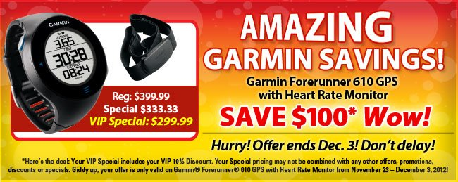 Amazing Garmin Savings!
