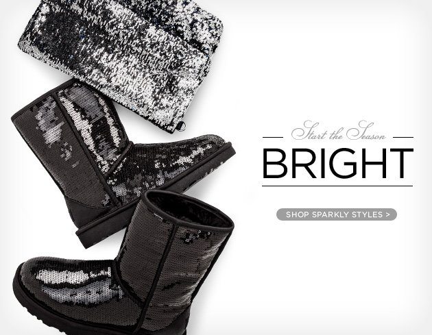 Start the season bright - Shop sparkly styles