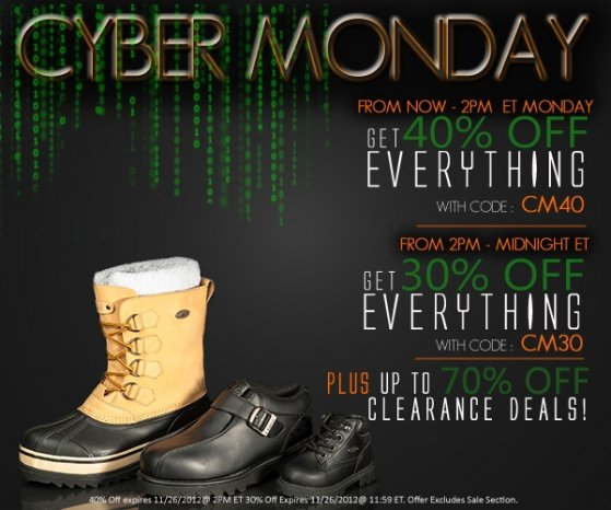 Cyber Monday 2HRS | Get 40% off + Up to 70% Off Clearance Deals