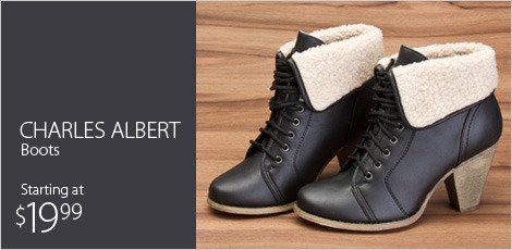 Charles Albert boots