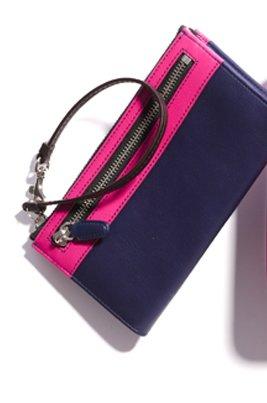 legacy colorblock zippy wallet