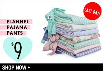 $9 Flannel Pajama Pants - Shop Now