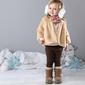 Completely Fabulous: Girls' Faux Fur