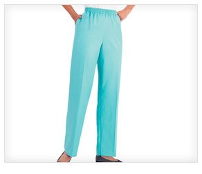 Alfred Dunner Basic Casual Pants