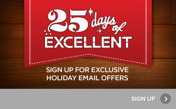Sign Up for Holiday Email Offers