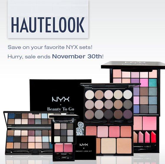 NYX on Hautelook!
