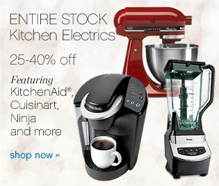 Entire Stock Kitchen Electrics. Shop now.