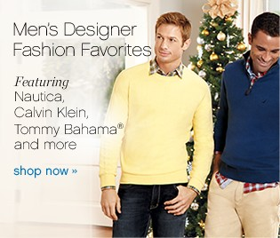 Men's Designer Fashion Favorites. Shop now.
