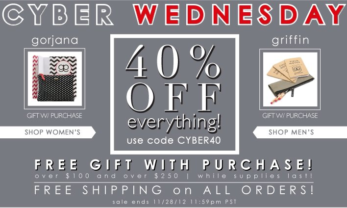 Cyber Wednesday | 40% Off