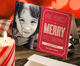 40% off Holiday Cards!