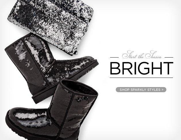 Start the season bright - Shop sparkly styles