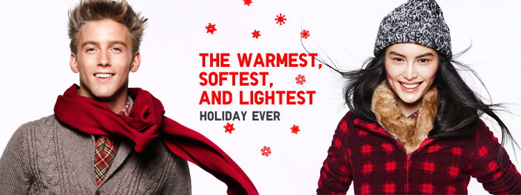 The Warmest, Softest and Lightest Holiday Ever!