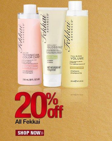 20% off All Fekkai