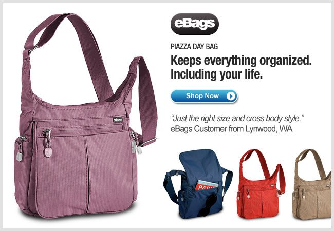 eBags Brand Piazza Day Bag - Shop Now >