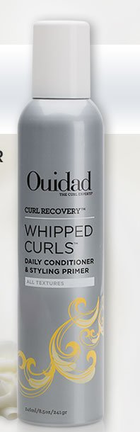 Introducing CURL RECOVERY WHIPPED CURLS Daily Conditioner & Styling Primer