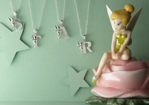 Tinkerbell Initial Jewelry