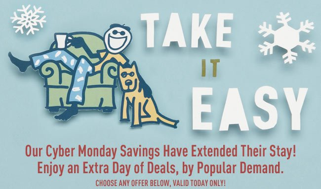 Cyber Monday Deals Have Been Extended