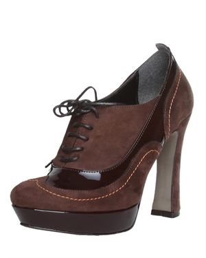 Lace-up Suede Pumps  Made in Italy