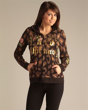 Paco Chicano by Christian Audigier Graphic Zip-Up - Made in USA