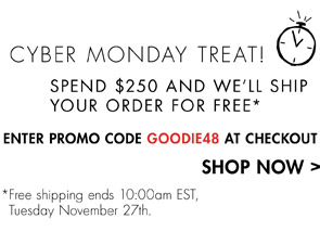 ENTER PROMO CODE GOODIE48 AT CHECKOUT