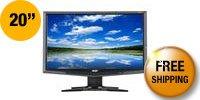 "Acer G205HVbd Black 20"" 5ms Widescreen LCD Monitor 200 cd/m2 ACM 5,000:1 (700:1)"