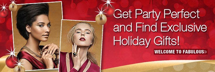 Get Party Perfect and Find Exclusive Holiday Gifts. Shop Now.