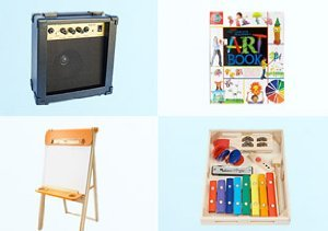 Little Artists & Musicians: Easels, Pianos & More