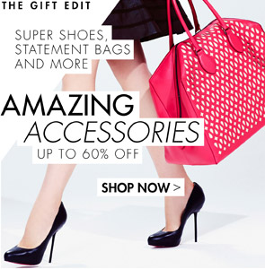 AMAZING ACCESSORIES UP TO 70% OFF