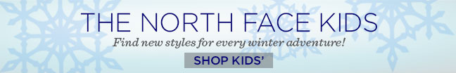 The North Face Kids SHOP NOW