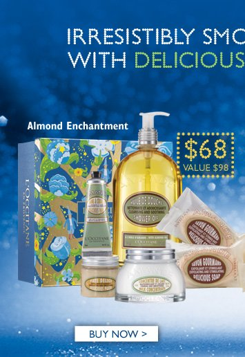 Almond Enchantment $68   Buy Now