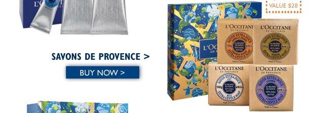 Savons de Provence $25 ($28 Value) Buy Now