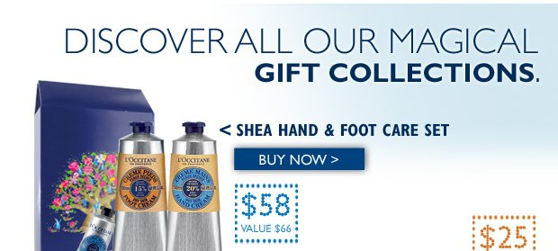 Shea Hand & Foot Care Set $58 ($66 Value)  Buy Now