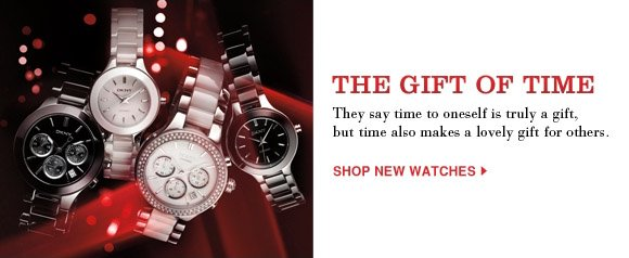 SHOP NEW WATCHES