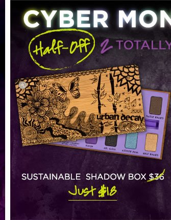 Cyber Monday Steal - Half-Off Sustainable Shadow Box >