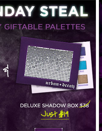 Cyber Monday Steal - Half-Off Deluxe Shadow Box >