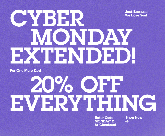Cyber Monday Extension
