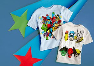 Superhero T's for Boys