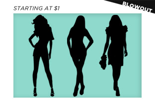 Last Chance Women's Apparel Blowout: Gucci, Versace, Desigual & More