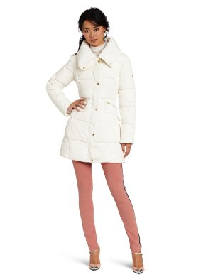 Jessica Simpson <br/> 3/4 Length Down Puffer Coat