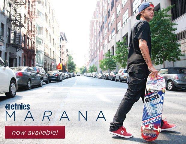 Now available: etnies Marana