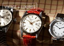From the Reserve Cartier & Rolex Men's Watches