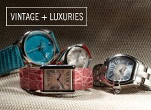 From the Reserve Cartier & Rolex Women's Watches