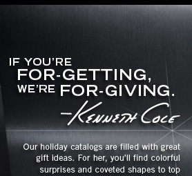 If you're for-getting, we're for-giving