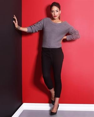 BCBGeneration Knit Cropped Sweater $39