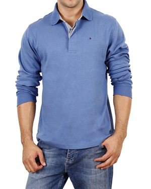 #1 Gift Pick fror Him: Tommy Hilfiger Long-Sleeved Polo Shirt