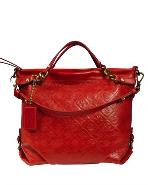 #1 Gift Pick for Her: Silvio Tossi Embossed Leather Shoulder Bag