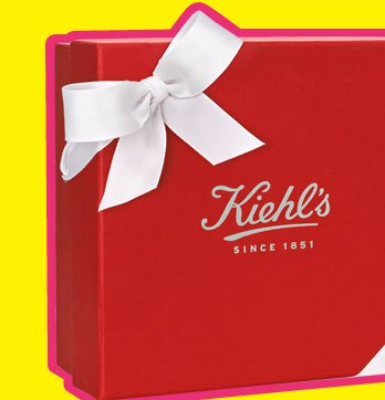 A beautiful limited-edition holiday gift box and bow.